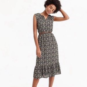 J.Crew Mercantile Floral Maxi V neck Dress